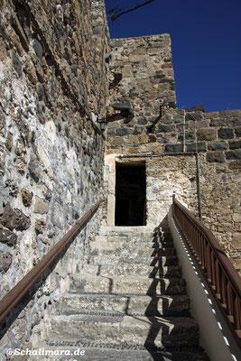 und die Treppen