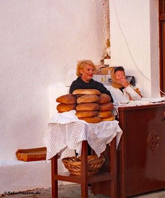 Die Artos Brote vor der Segnung