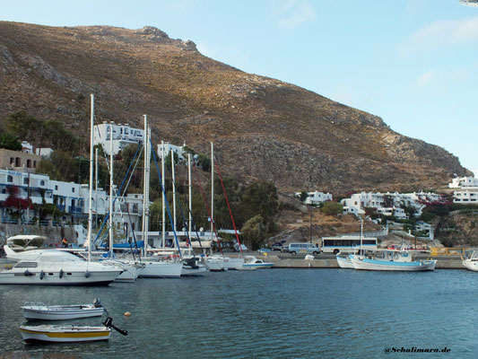 Hafen von Livadia / Tilos