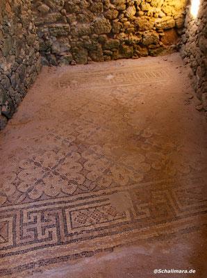 und ein weiterer Mosaikboden