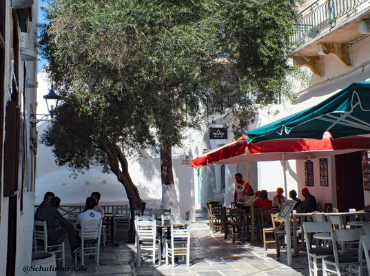 Café/Bar an der Hauptgasse Ios/Chora