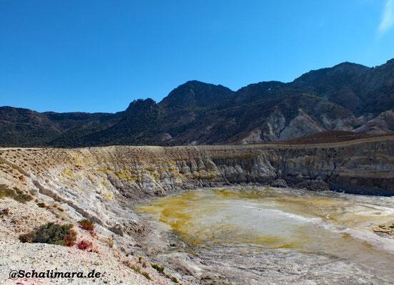 Blick in den Stephanos-Krater