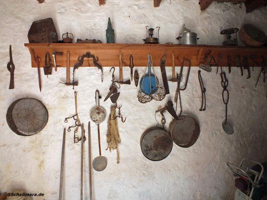 die alten Werkzeuge