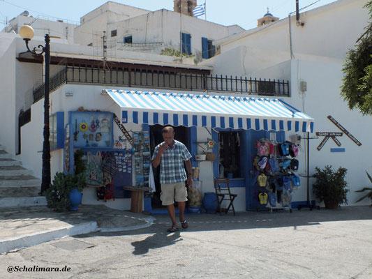 Touristenshop am Hafen