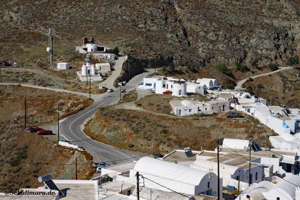 Straße zur Chora