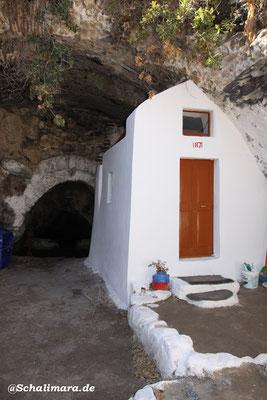 Kapelle Panagia Thermiani.