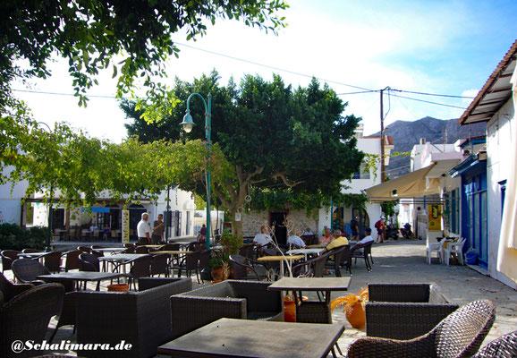 Dorfplatz in Livadia