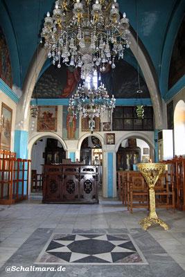in der Kirche Issódia tis Theotókou