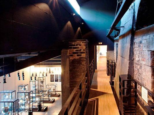 Interieur du musée Terra Rossa Salernes Var