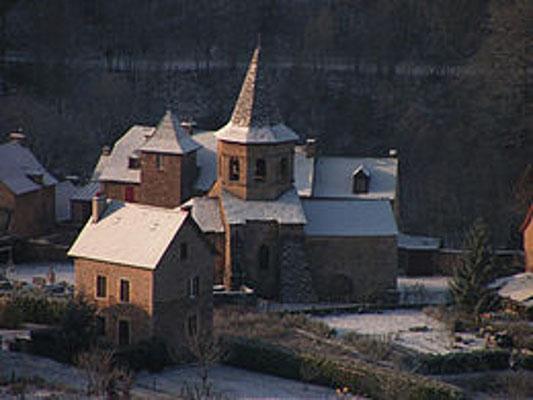 A 2 km du gîte de Montredon à Salles la Source entre Rodez et Conques en Aveyron