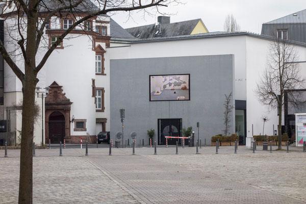 Haupteingang des Museums für Gegenwartskunst in Siegen