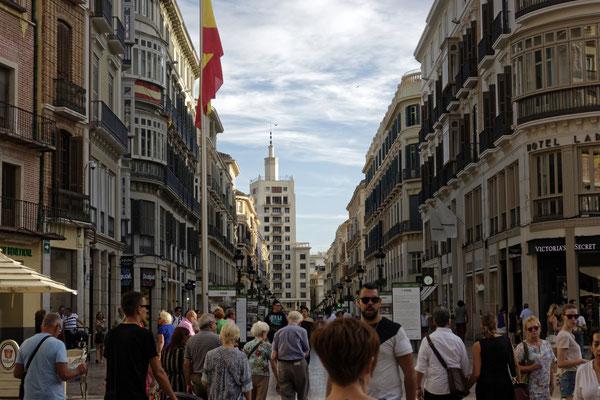 Einkaufstraße Marqués de Larios