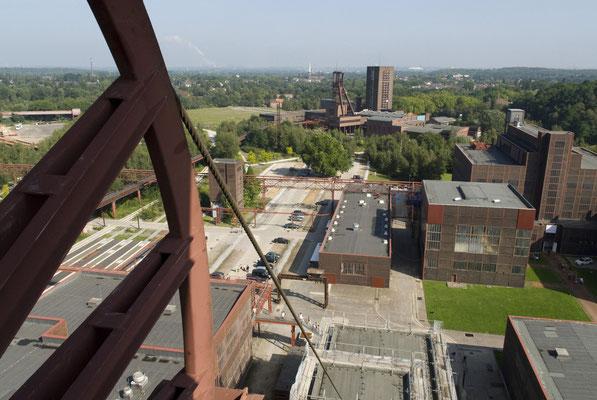 Blick auf Schacht 1/2/8 (Pact Zollverein), August 2008
