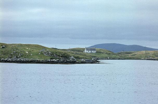 Landschaft vor dem Haus
