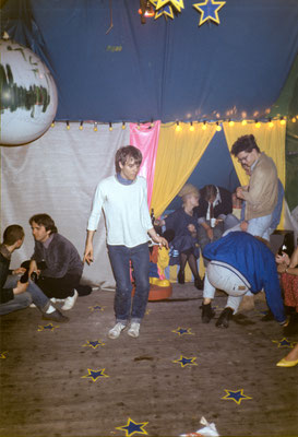 Tanz in den Mai, Partybereich im Speicher