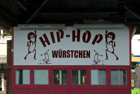 Hip-Hop Würstchenbude in Essen-Borbeck (inzwischen abgerissen)