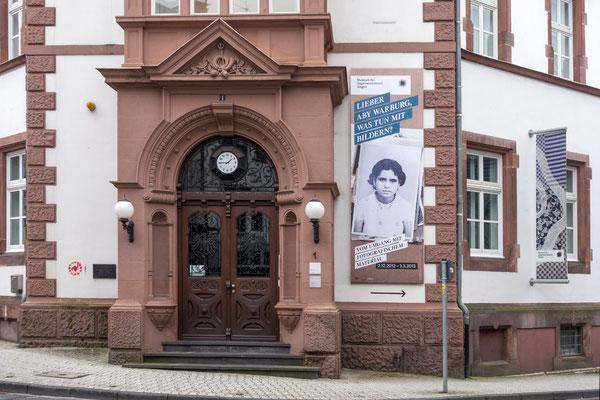 Nebeneingang Museum für Gegenwartskunst in Siegen