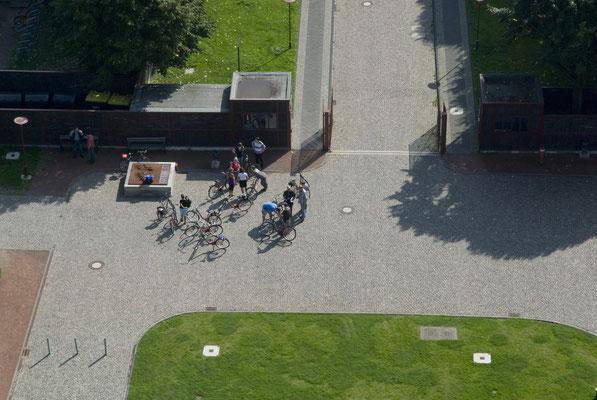 Blick auf den Ehrenhof, August 2008