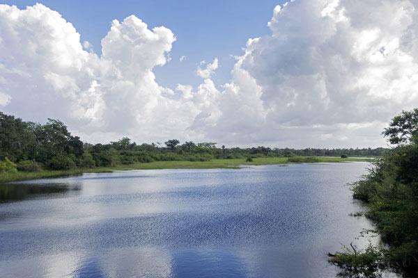 Tropische Landschaft, Belize
