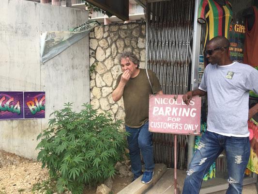 in Jamaica für den privaten Gebrauch legal... Montego Bay, Jamaica