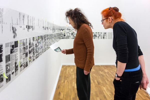 "Lia Perjovschi, ""Timeline on General Culture"", 1997-2006"