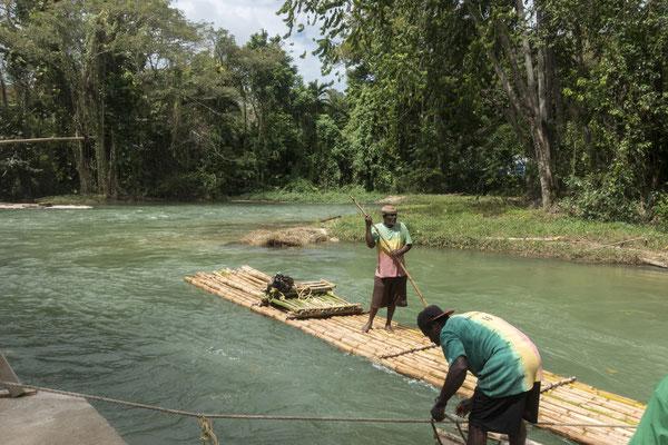 Floßfahrt Trelawny, Jamaica