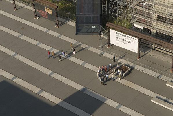 Blick auf das Forum Kohlenwäsche, August 2008