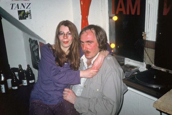 Susanne mit Roger, 1986