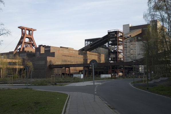 Wipperhalle und Kohlenwäsche, April 2007
