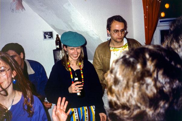 Sonja und Reinhard im Weißen Raum,
