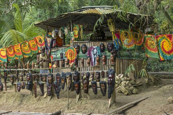Verkauf für Touristen, Trelwany, Jamaica