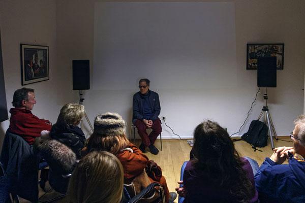 Rainer Komers stellte sich den Fragen zu seinem Film