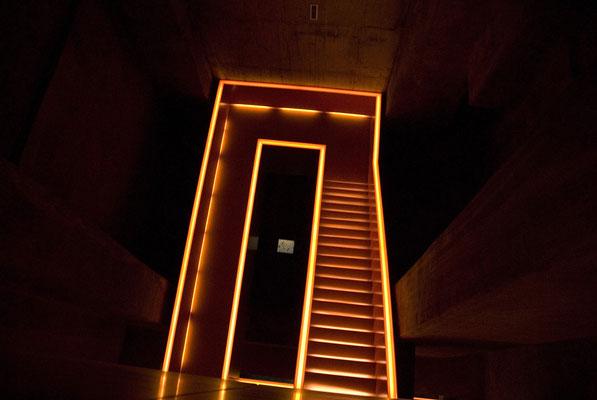 Das Treppenhaus der Kohlenwäsche, April 2007