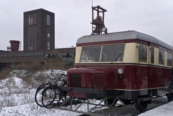 historische Bahn, Zollvereingelände