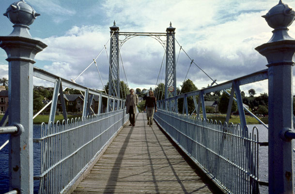 Brücke über den Ness