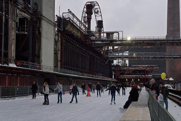 Eisbahn an der Kokerei, Januar 2010