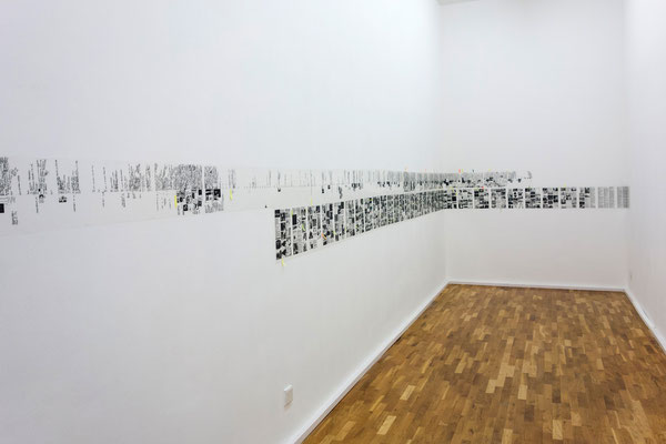 """Lia Perjovschi, """"Timeline on General Culture"""", 1997-2006 /  """"Subjective Art History fom Modernism till Today"""", 1990-2004"""