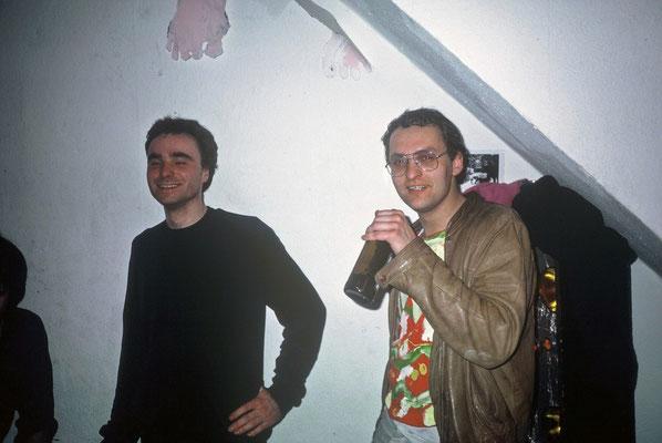 Christof und Reinhard, 1986