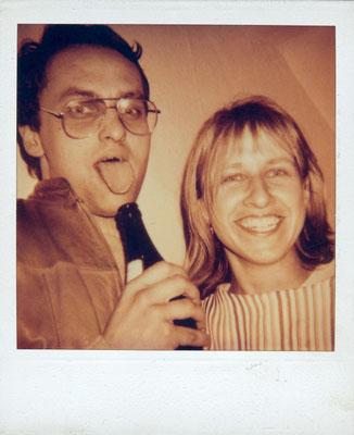 Sonja und Reinhard, Polaroidrepro vom SW-Foto
