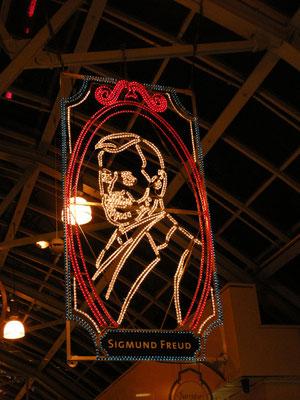 Sigmund Freud bei den Essener Lichtwochen 2008