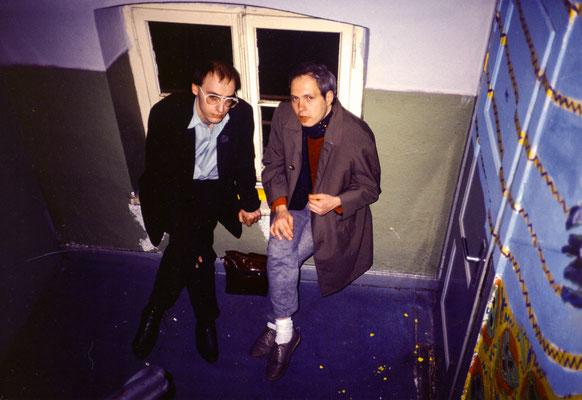 Friedel und Michael 1986