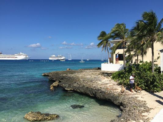 Kreuzfahrtschiffe vor Grand Cayman