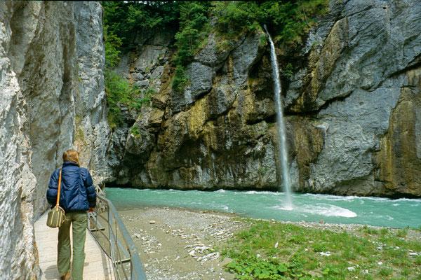 Aareschlucht (Berner Oberland) nahe Interlaken