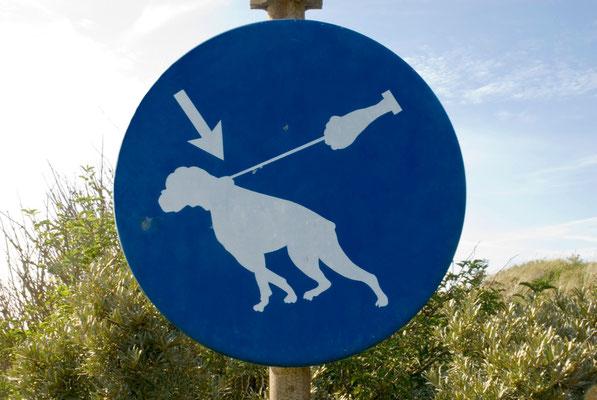 Schild auf Texel