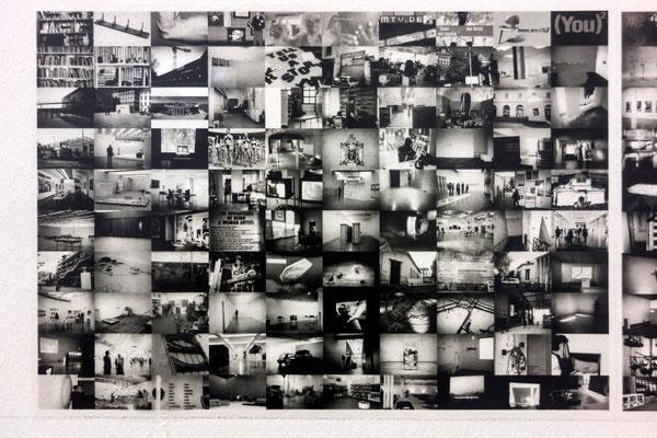 "Lia Perjovschi, ""Timeline on General Culture"", 1997-2006, Detail"