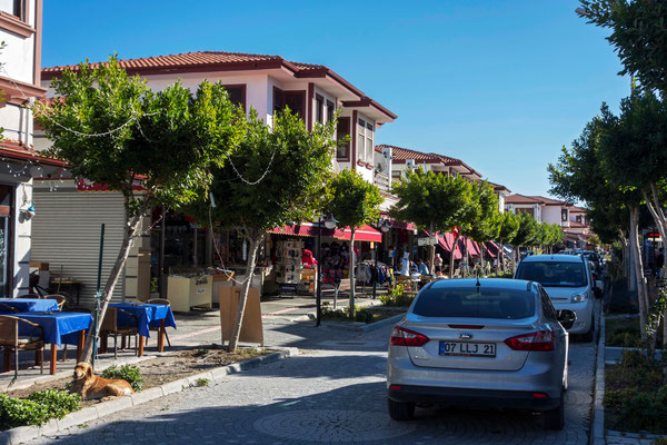Straße in Kumköy