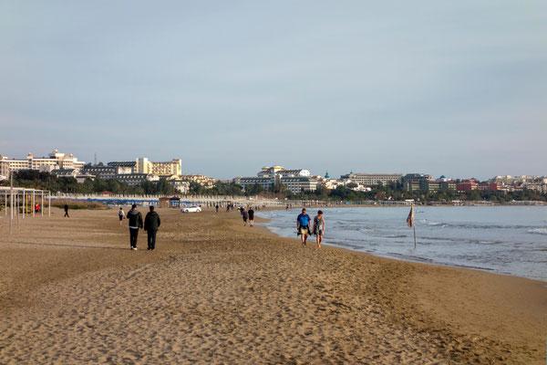 Strand nahe Side