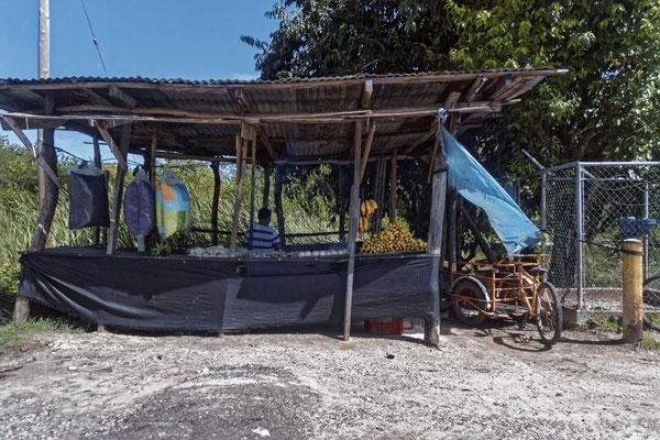 Verkauf am Straßenrand, Belize