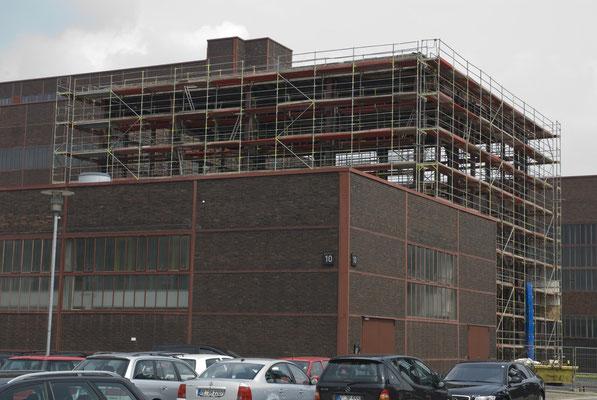 Restaurierungsarbeiten an Halle 8 (Hochdruckkompressor), Mai 2009