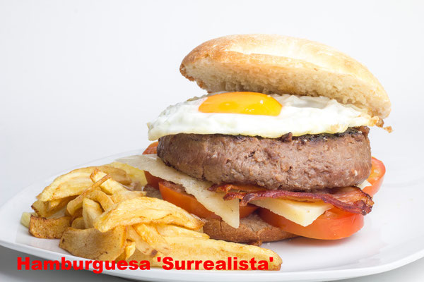 Hamburguesa Surrealista